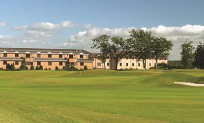 golf course hotel in background doubletree by hilton the westerwood