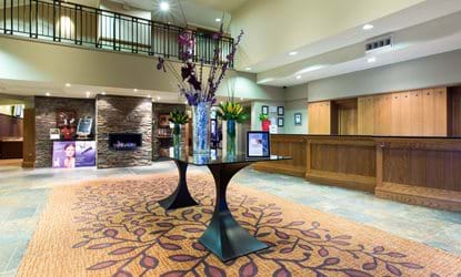 reception lobby doubletree by hilton the westerwood