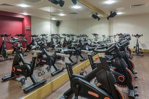 health club gym spin doubletree by hilton the westerwood